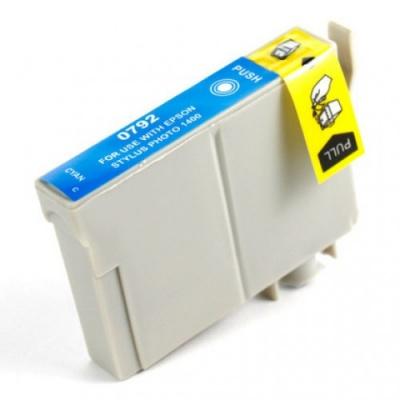 Epson T0792 azurová (cyan) kompatibilní cartridge
