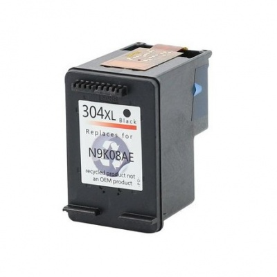 HP 304XL N9K08AE černá (black) kompatibilní cartridge