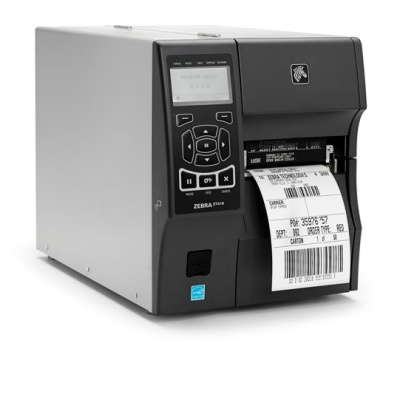 Zebra ZT410 ZT41042-T0E00C0Z drukarka etykiet, 203dpi, 104mm, USB, RS232, LAN, BT, DT/TT, RFID UHF, EZPL