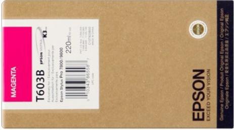 Epson C13T603300 purpuriu (magenta) cartus original