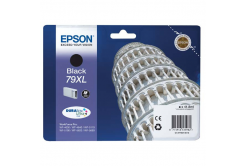 Epson originální ink C13T79014010, 79XL, XL, black, 2600str., 42ml, 1ks, Epson WorkForce Pro WF-5620DWF, WF-5110DW, WF-5690DWF