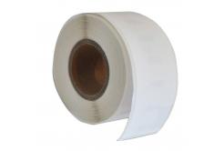 Kompatibilní etikety s Dymo 99018, 38mm x 190mm, bílé, role