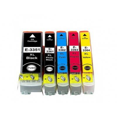 Epson T3357 multipack kompatibilní cartridge
