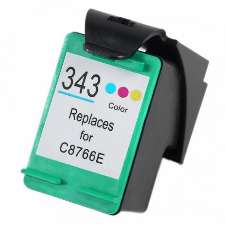 HP 343 C8766E color cartus compatibil