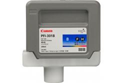 Canon PFI-301BL, 1494B001 modrá (blue) originální cartridge