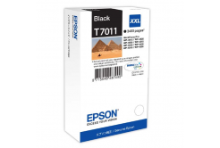 Epson originální ink C13T70114010, XXL, black, 3400str., Epson WorkForce Pro WP4000, 4500 series