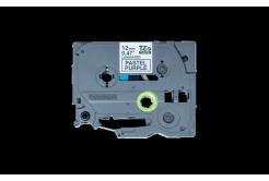 Brother TZ-MQF31 / TZE-MQF31, 12mm x 4m, černý tisk / fialový podklad, originální páska