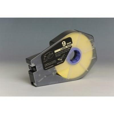 Kompatibilní samolepicí páska pro Canon M-1 Std/M-1 Pro, 9mm x 30m, kazeta, žlutá