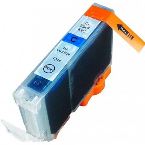 Canon BCI-6C azúrová (cyan) kompatibilná cartridge