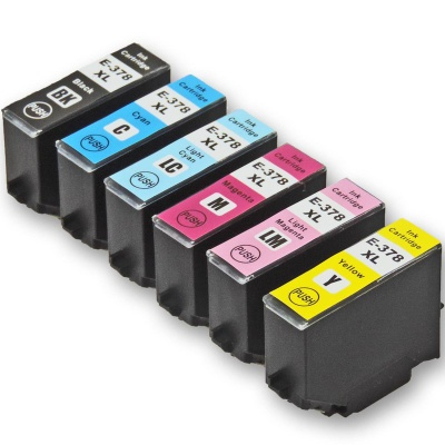 Epson 378XL T3798 multipack kompatibilní cartridge
