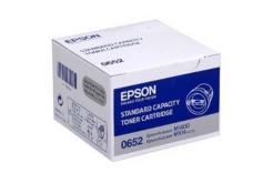 Epson C13S050652 fekete (black) eredeti toner
