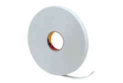 3M 9528W Montážní pěnová oboustranná páska, bílá, 19 mm x 3 m