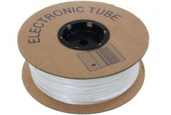 Popisovací PVC bužírka kruhová BA-30, 3 mm, 200 m, biały