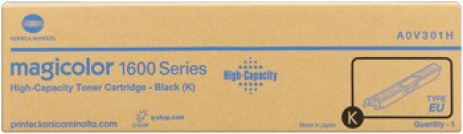 Konica Minolta A0V301H black original toner