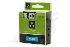Dymo D1 45800, S0720820, 19mm x 7m, černý tisk/průhledný podklad, originální páska
