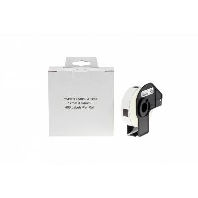 Brother DK-11204, 17mm x 54mm, kompatibilní role etiket