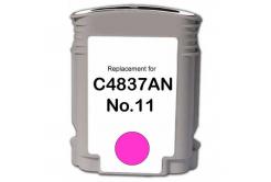 HP 11 C4837A purpurová (magenta) kompatibilní cartridge