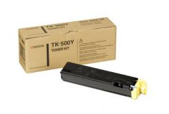 Kyocera Mita TK-500Y sárga (yellow) eredeti toner