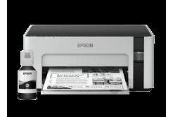 Epson tiskárna ink EcoTank Mono M1100, A4, 720x1440, 32ppm, USB, 3 roky záruka po registraci