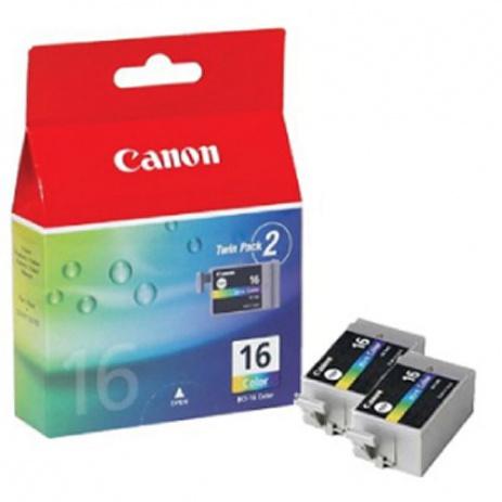 Canon BCI-16C, 9818A020, 9818A002 kolorowa (color) tusz oryginalna