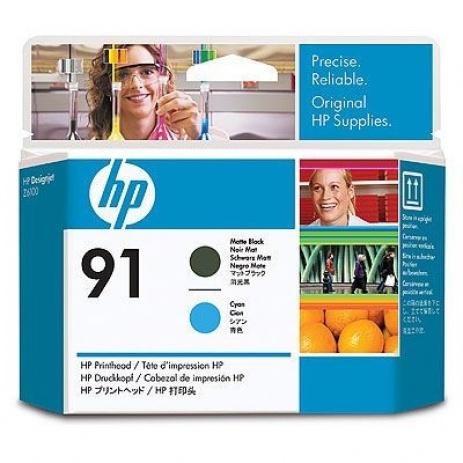 HP C9460A 91 matt fekete/cián (matte black/cyan) eredeti nyomtató fej