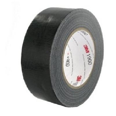 3M 1900 Textilní páska univerzální, 50 mm x 50 m, černá