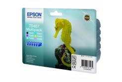 Epson originální ink C13T04874010, CMYK/light C/light M, 6x13ml, Epson Stylus Photo R200, 300, 320, 340, RX500, 600, 640, photo mu