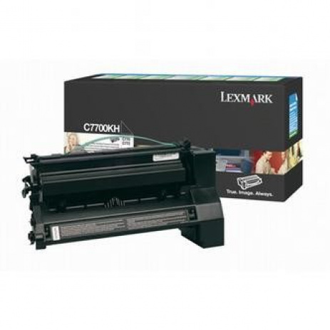 Lexmark C7700KH black original toner
