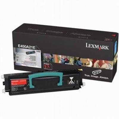 Lexmark E450A21E černý (black) originální toner