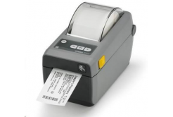Zebra ZD410 ZD41022-D0EW02EZ tiskárna štítků, 8 dots/mm (203 dpi), MS, RTC, EPLII, ZPLII, USB, BT (BLE, 4.1), Wi-Fi, dark grey