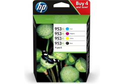 HP 953XL 3HZ52AE Bk+C+M+Y multipack originální cartridge