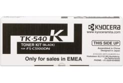 Kyocera Mita TK-540K černý (black) originální toner