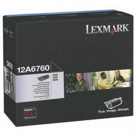 Lexmark 12A6760 negru (black) toner original