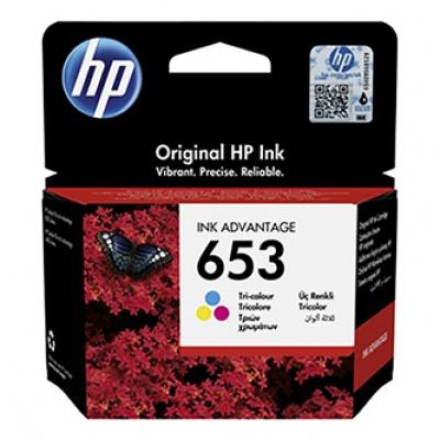 HP 653 3YM74AE barevná (color) originální cartridge