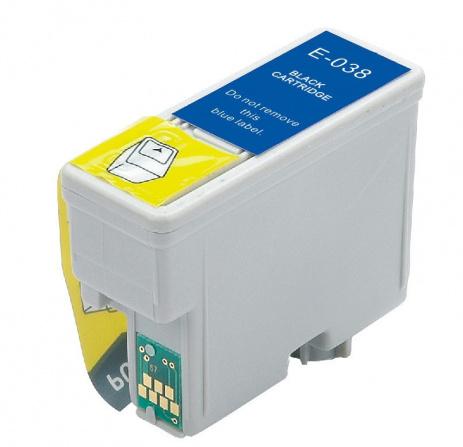 Epson T0381 black compatible cartridge
