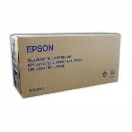 Epson C13S050010 black original toner