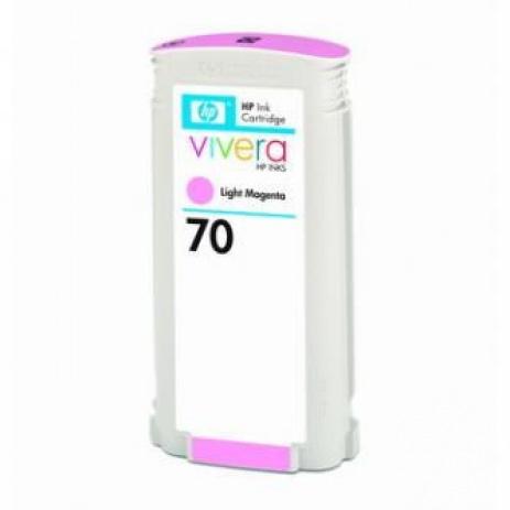 HP 70 C9455A purpuriu deschis (light magenta) cartus original