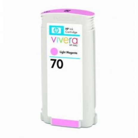 HP 70 C9455A világos bíborvörös (light magenta) eredeti tintapatron