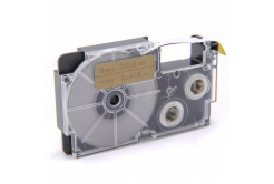 Kompatibilní páska s Casio XR-9GD1 9mm x 8m černý tisk / zlatý podklad
