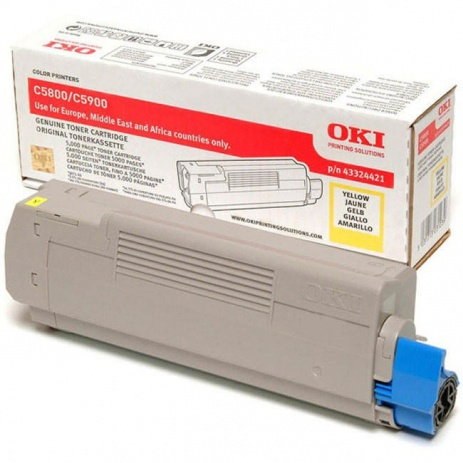OKI 43324421 galben (yellow) toner original