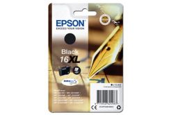 Epson originální ink C13T16314012, T163140, 16XL, black, 12.9ml, Epson WorkForce WF-2540WF, WF-2530WF, WF-2520NF, WF-2010