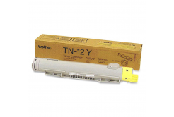 Brother TN-12Y sárga (yellow) eredeti toner