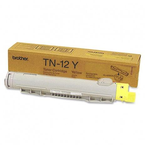 Brother TN-12Y sárga (yellow) eredeti toner