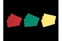 Evolis C4301 500ks CR80 PVC karty, červené