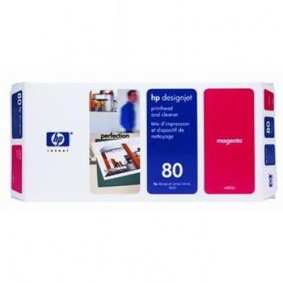 HP č.80 C4822A purpurová (magenta) originální tisková hlava