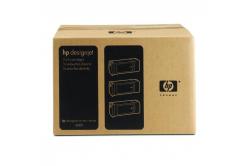 HP 90 C5083A 3ks azurová (cyan) originální cartridge
