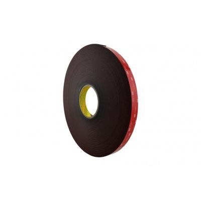 3M VHB 4655-F, 9 mm x 33 m, černá oboustranně lepicí akrylová páska, tl. 1,5 mm