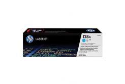 HP 128A CE321A azurový (cyan) originální toner