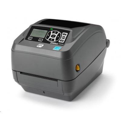 Zebra ZD500 ZD50043-T0EC00FZ drukarka etykiet, 12 dots/mm (300 dpi), RTC, ZPLII, BT, Wi-Fi, multi-IF (Ethernet)