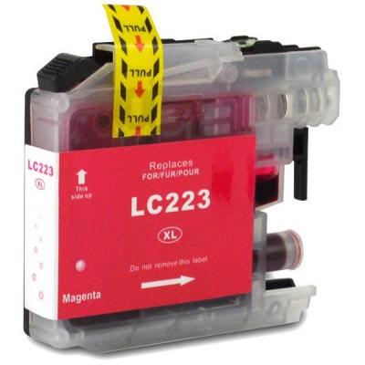 Brother LC-223XL purpurová (magenta) kompatibilní cartridge